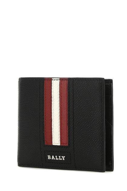Black leather Tevyelt wallet
