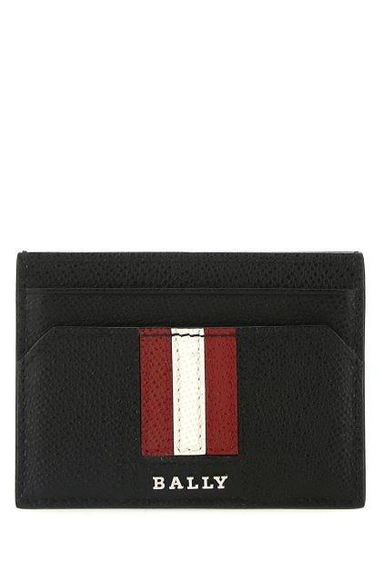 Black leather Tharlt card holder