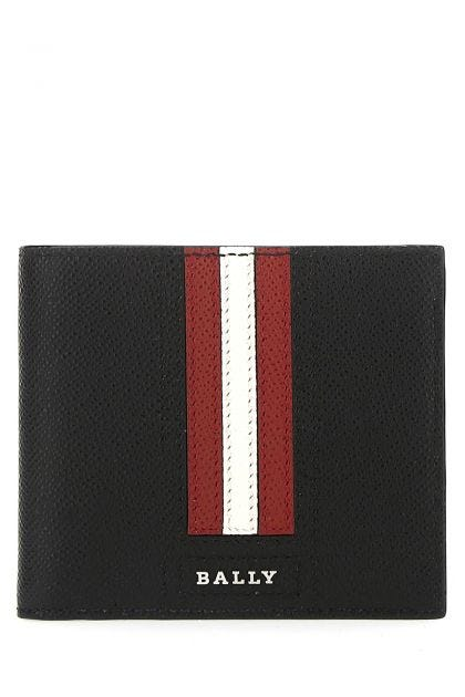 Black leather Trasai wallet
