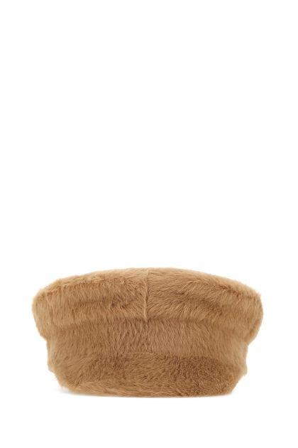 Biscuit eco fur baker boy hat