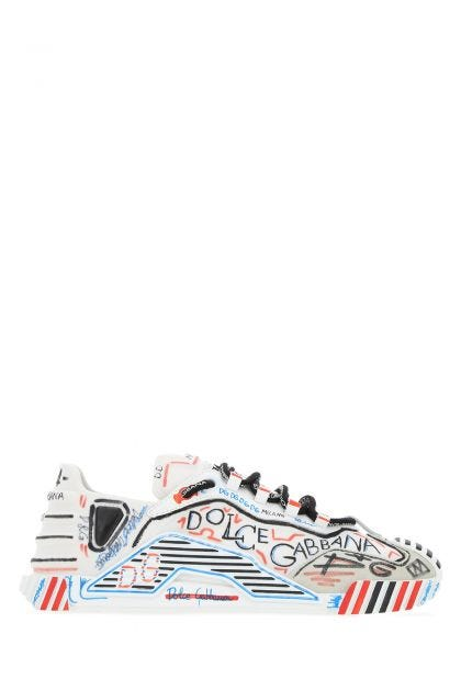 Printed fabric NS1 sneakers