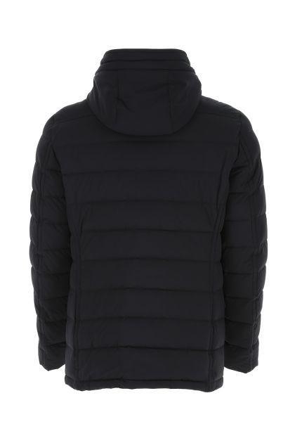 Dark blue nylon blend Craig down jacket