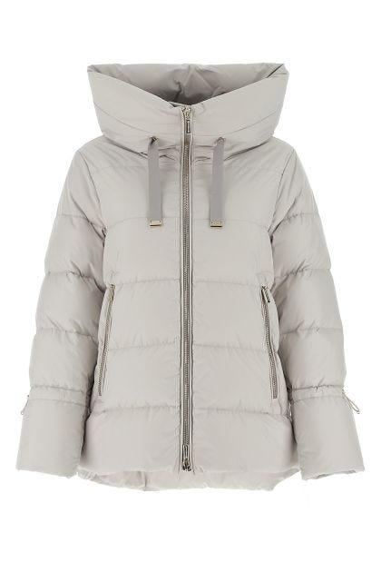 Light grey polyester Gadia down jacket