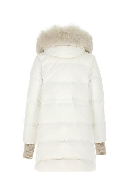 White polyester Talassa down jacket