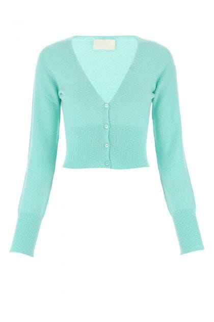 Light blue cashmere cardigan