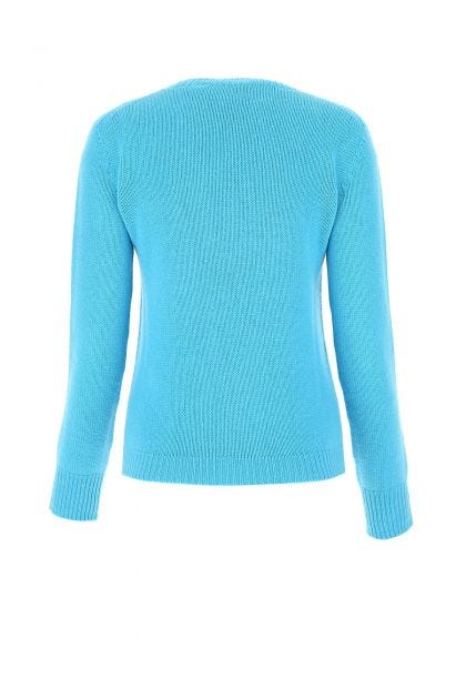 Turquoise cashmere sweater