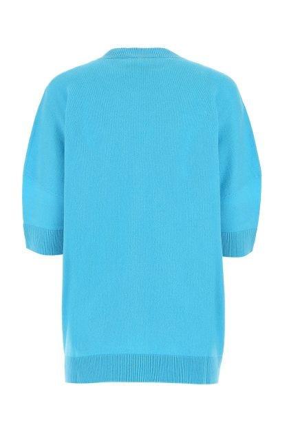 Light blue cashmere oversize sweater