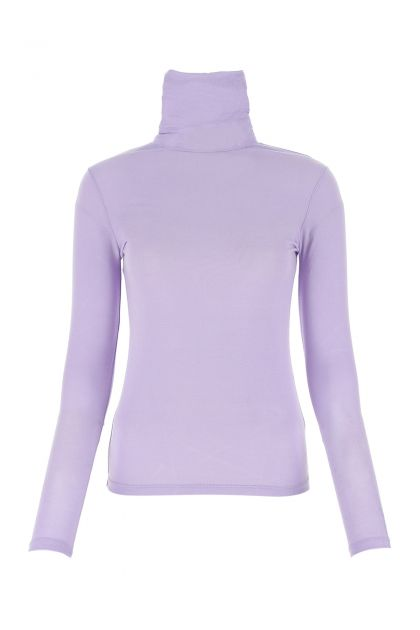 Lilac micromodal stretch top