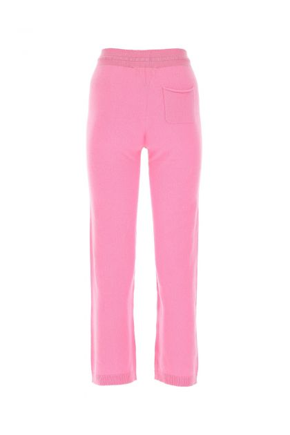 Pink cashmere pant