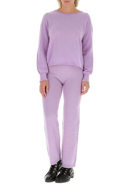 Lilac cashmere pant
