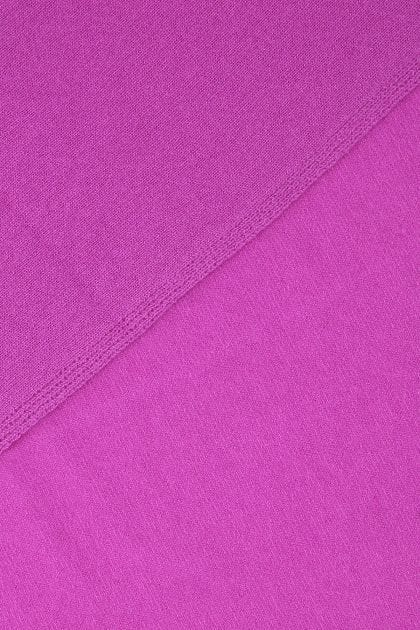 Fuchsia wool and cashmere scarf