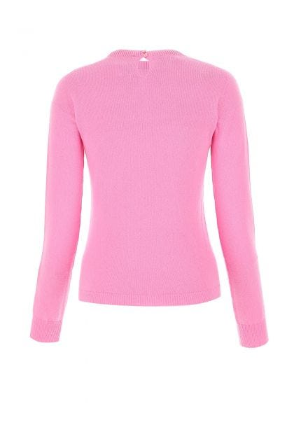 Pink cashmere top