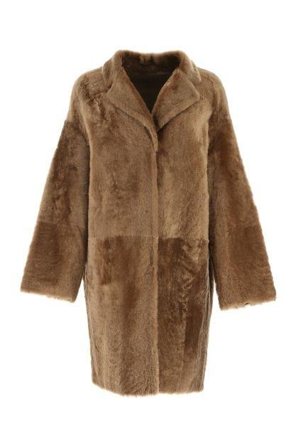 Biscuit fur coat