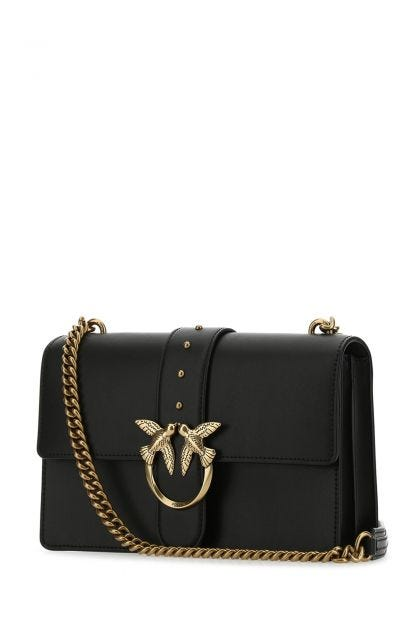 Black leather Love Classic Icon Simply shoulder bag