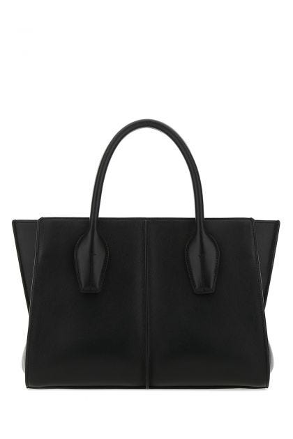 Black leather small Holly handbag