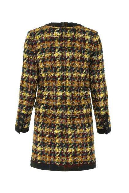 Multicolor acrylic blend dress