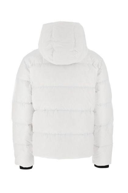 White polyester down jacket