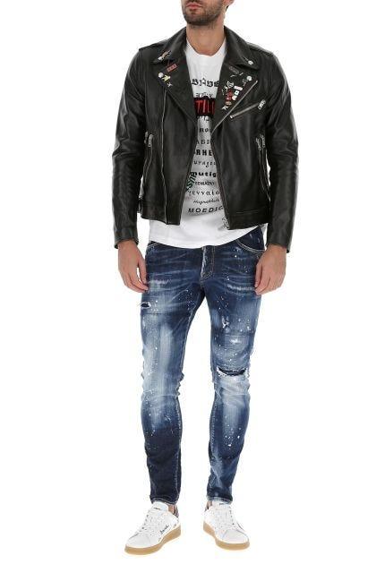 Stretch denim Skater jeans