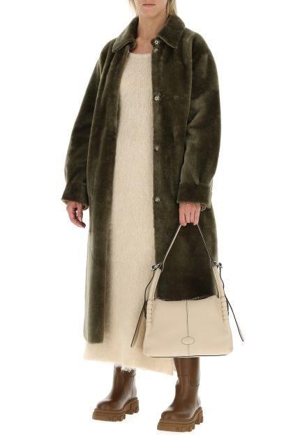 Melange sand alpaca Cuzco blend dress