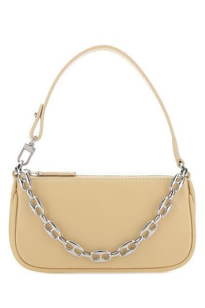 Sand leather Rachel mini shoulder bag
