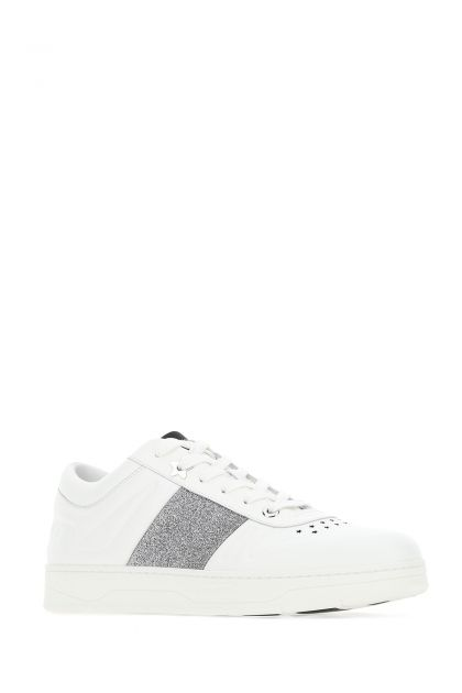 White leather Hawaii sneakers