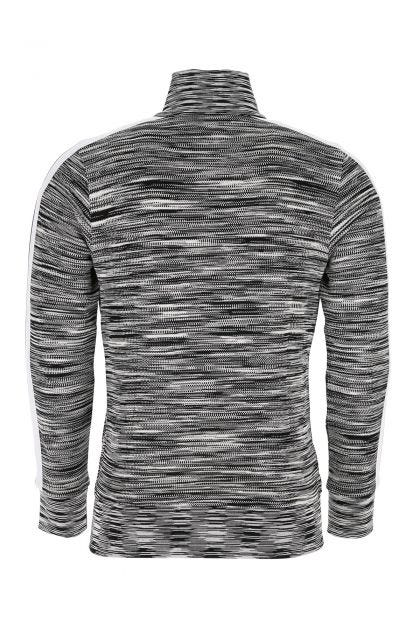 Embroidered viscose blend sweatshirt