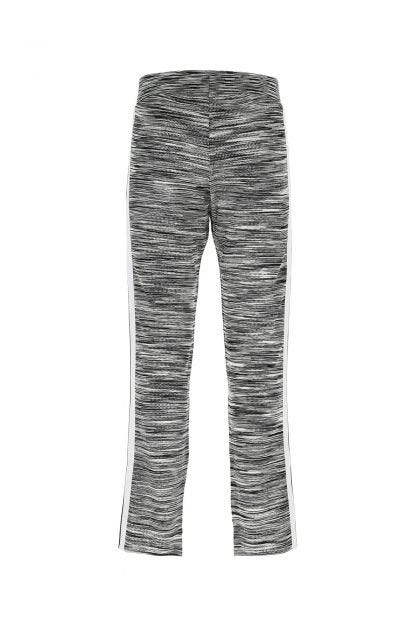 Embroidered viscosa blend joggers