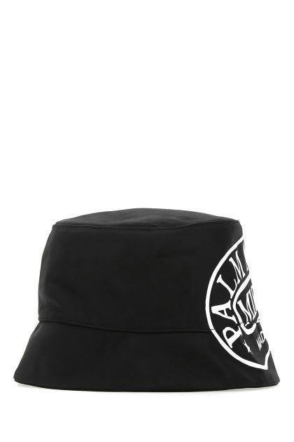 Black nylon hat
