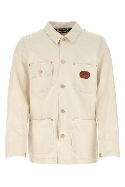 Sand gabardine jacket
