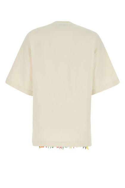 Sand cotton oversize t-shirt