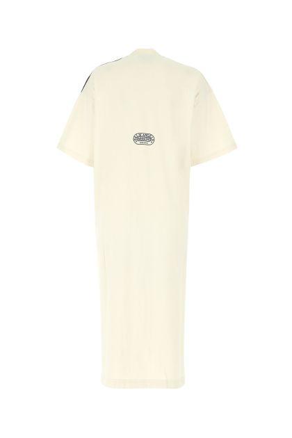 Printed cotton oversize dress