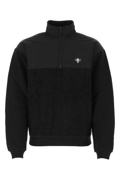 Black cotton Satellite Cross sweatshirt