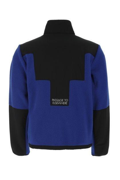 Two-tone pile jacket