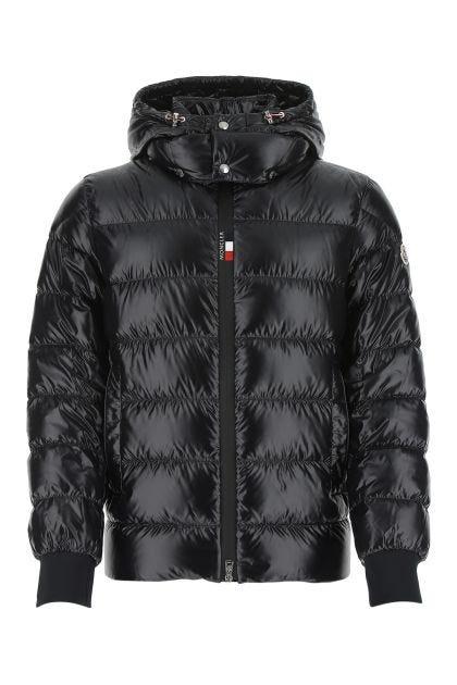 Black nylon Cuvellier down jacket