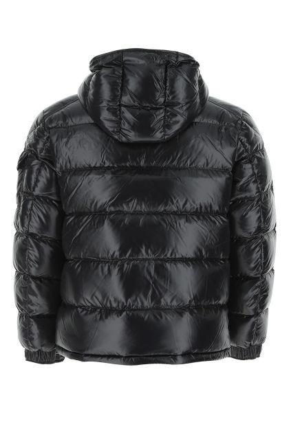 Black nylon Maya down jacket