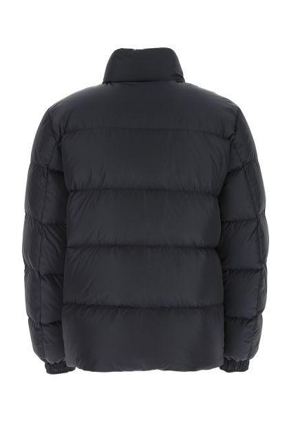 Blue nylon Kounen down jacket