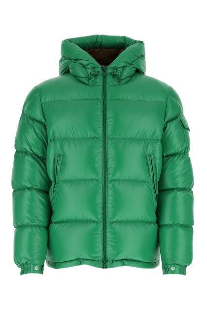 Grass green Ecrins down jacket
