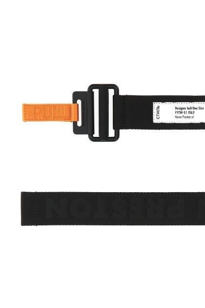 Black fabric Tape belt