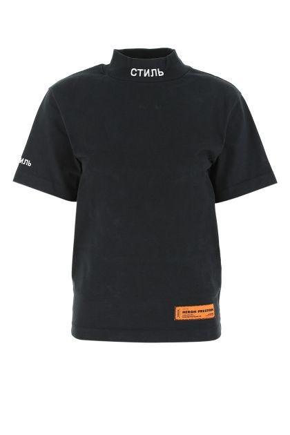 Black cotton oversize t-shirt