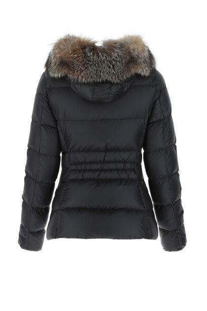 Black nylon Boed down jacket