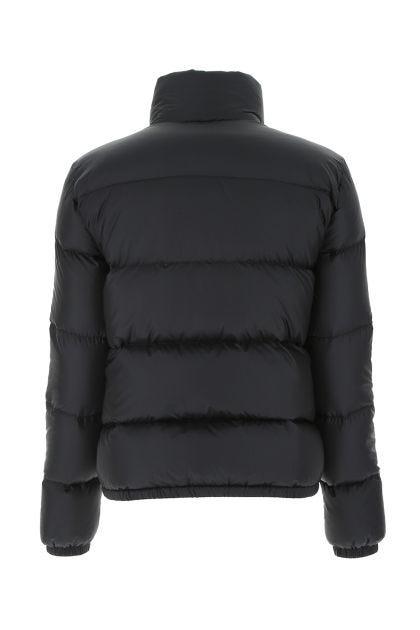 Black nylon Lannic down jacket