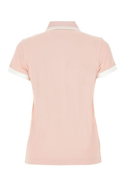Pink piquet polo shirt