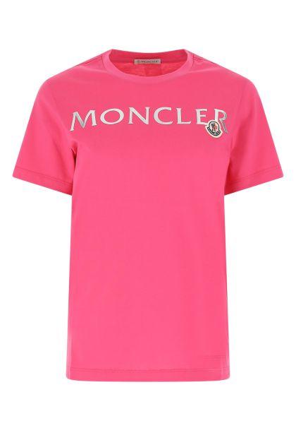 Dark pink cotton t-shirt