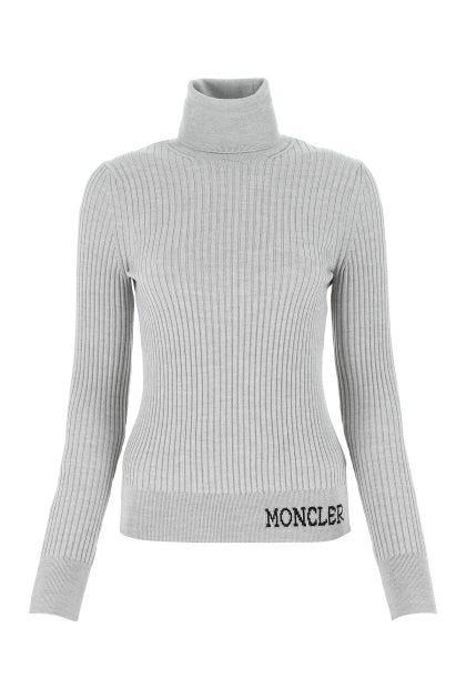 Grey wool Ciclista sweater