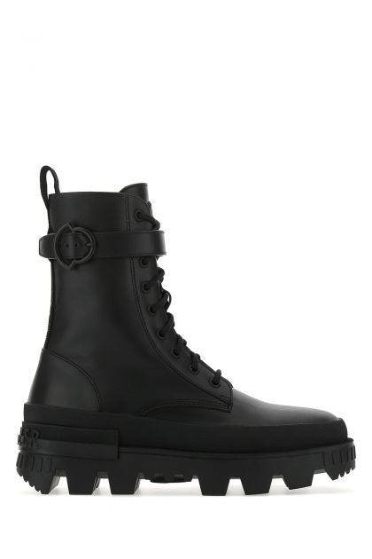 Black leather Carinne boots