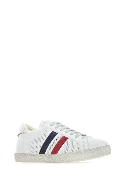 Chalk leather Ryegrass sneakers