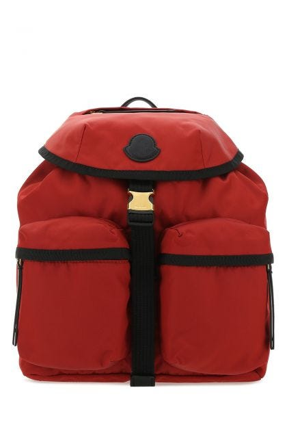 Red nylon large Dauphine backpack