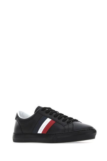 Black leather New Monaco sneakers