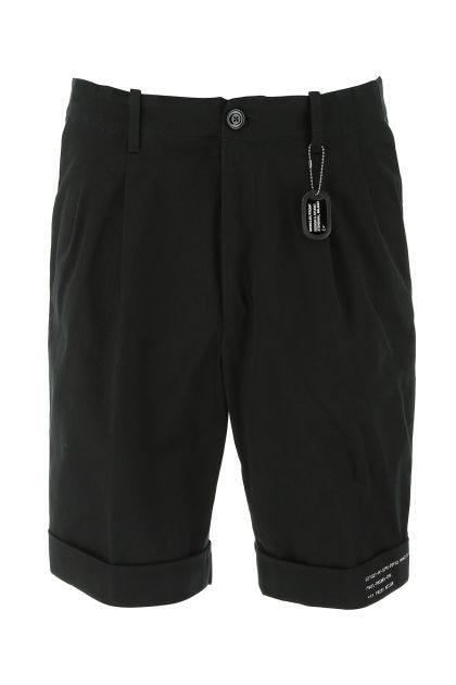 Black 7 Moncler Fragment Hiroshi Fujiwara bermuda shorts