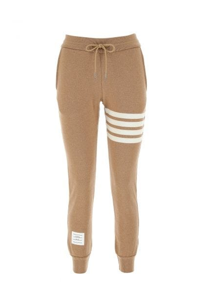 Biscuit stretch cotton blend joggers